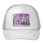 Pancreatic Cancer HERO COMES ALONG 1 DaughterInLaw Mesh Hat