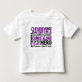 Pancreatic Cancer HERO COMES ALONG 1 Grandpa Toddler T-shirt