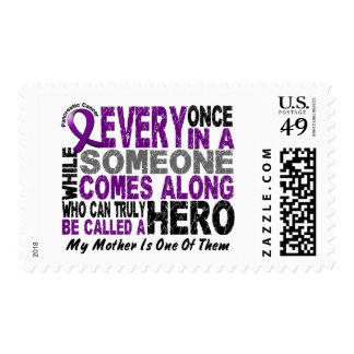 Pancreatic Cancer HERO COMES ALONG 1 Mother Postage