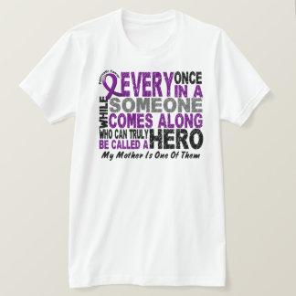 Pancreatic Cancer HERO COMES ALONG 1 Mother T-Shirt