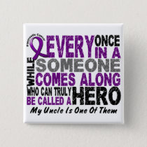 Pancreatic Cancer HERO COMES ALONG 1 Uncle Button