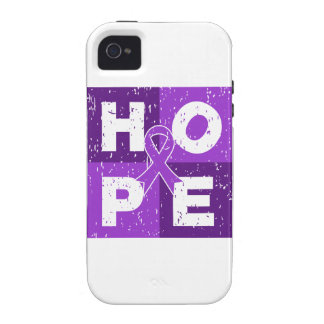 Pancreatic Cancer HOPE Cube iPhone 4 Cases