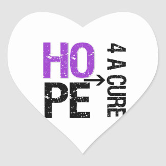 Pancreatic Cancer Hope For a Cure Stickers