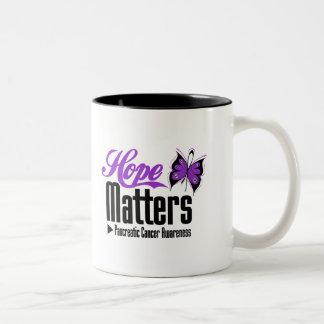 Pancreatic Cancer HOPE MATTERS Coffee Mugs