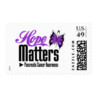 Pancreatic Cancer  HOPE MATTERS Stamps