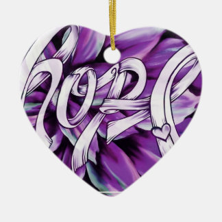Pancreatic Cancer Hope Ornament