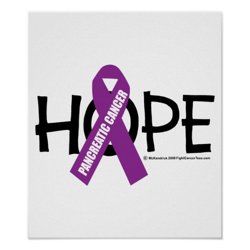 Pancreatic Cancer Hope Poster