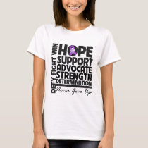 Pancreatic Cancer Hope Support Advocate T-Shirt