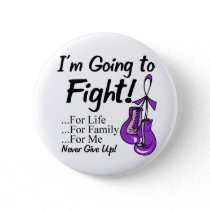 Pancreatic Cancer  I am Going To Fight. Button