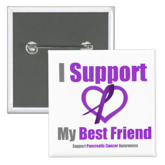 Pancreatic Cancer I Support My Best Friend Pin
