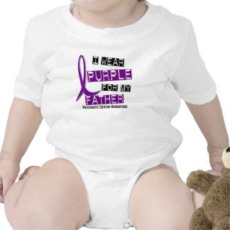 Pancreatic Cancer I WEAR PURPLE 37 Father T Shirts