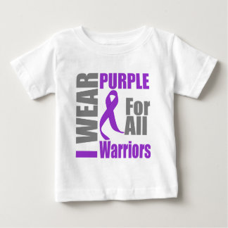 Pancreatic Cancer I Wear Purple For All Warriors Tshirts