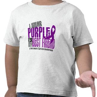 Pancreatic Cancer I Wear Purple For My Best Friend T-shirt