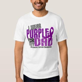 Pancreatic Cancer I Wear Purple For My Dad 6.2 Shirt