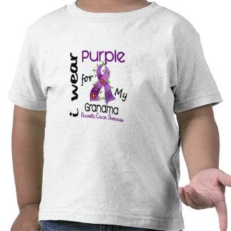 Pancreatic Cancer I Wear Purple For My Grandma 43 Tee Shirts