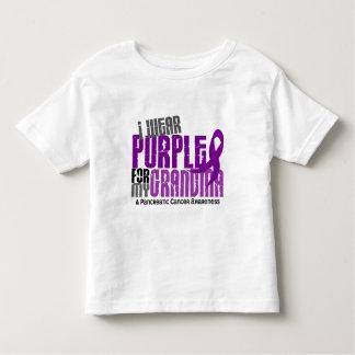 Pancreatic Cancer I Wear Purple For My Grandma 6.2 Toddler T-shirt