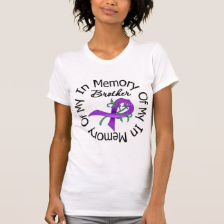Pancreatic Cancer In Memory of My Brother T-shirts