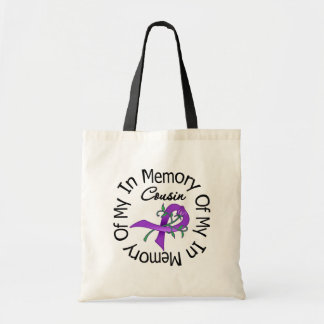 Pancreatic Cancer In Memory of My Cousin Canvas Bag