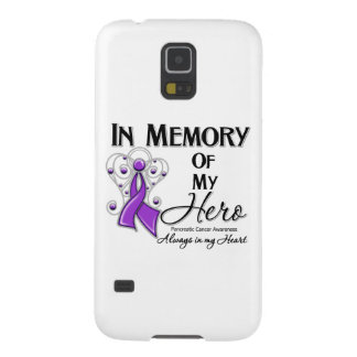 Pancreatic Cancer In Memory of My Hero Cases For Galaxy S5