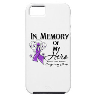 Pancreatic Cancer In Memory of My Hero iPhone SE/5/5s Case