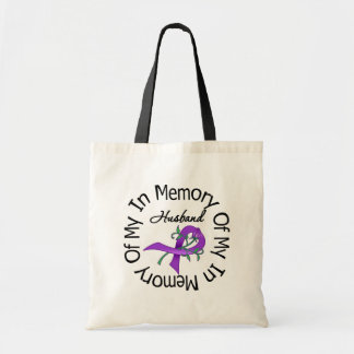 Pancreatic Cancer In Memory of My Husband Bag