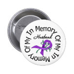 Pancreatic Cancer In Memory of My Husband Buttons