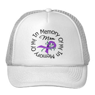 Pancreatic Cancer In Memory of My Mom Mesh Hat