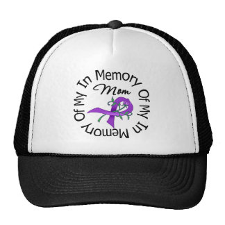 Pancreatic Cancer In Memory of My Mom Trucker Hats