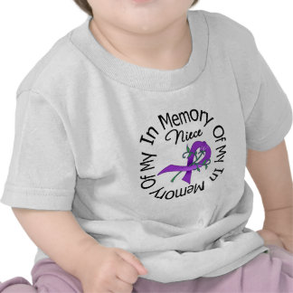 Pancreatic Cancer In Memory of My Niece Tee Shirt