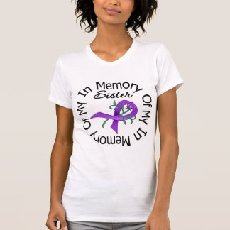 Pancreatic Cancer In Memory of My Sister Tee Shirts
