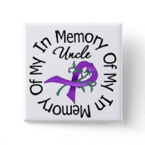 Pancreatic Cancer In Memory of My Uncle Button