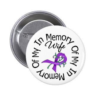 Pancreatic Cancer In Memory of My Wife Pins