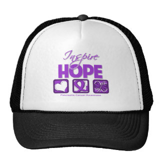 Pancreatic Cancer Inspire Hope Trucker Hat