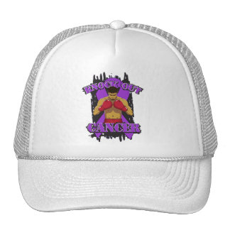 Pancreatic Cancer Knock Out Cancer Hat