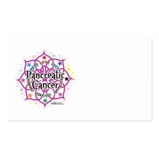 Pancreatic Cancer Lotus Business Card