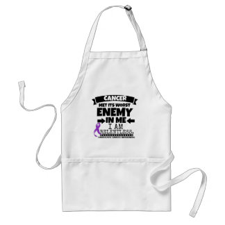 Pancreatic Cancer Met Its Worst Enemy in Me Adult Apron