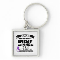 Pancreatic Cancer Met Its Worst Enemy in Me Keychain