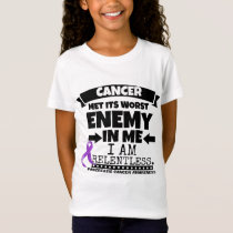 Pancreatic Cancer Met Its Worst Enemy in Me T-Shirt