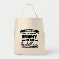 Pancreatic Cancer Met Its Worst Enemy in Me Tote Bag