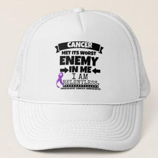 Pancreatic Cancer Met Its Worst Enemy in Me Trucker Hat