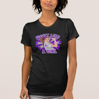 Pancreatic Cancer Modern Rosie Fight Shirts