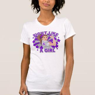 Pancreatic Cancer Modern Rosie Fight Tee Shirt