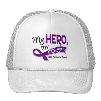 Pancreatic Cancer MY HERO MY COUSIN 42 Hats