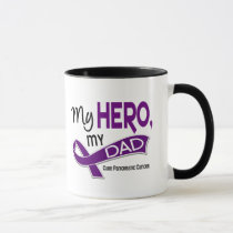 Pancreatic Cancer MY HERO MY DAD 42 Mug