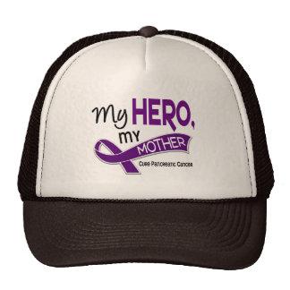 Pancreatic Cancer MY HERO MY MOTHER 42 Trucker Hat