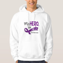 Pancreatic Cancer MY HERO MY UNCLE 42 Hoodie