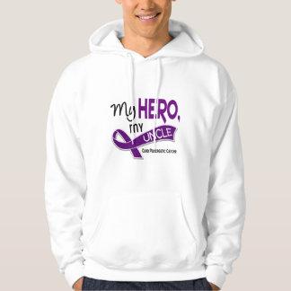 Pancreatic Cancer MY HERO MY UNCLE 42 Hoodie
