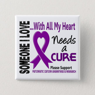 Pancreatic Cancer Needs A Cure 3 Pinback Button