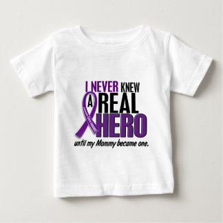 Pancreatic Cancer NEVER KNEW A HERO 2 Mommy Tshirts