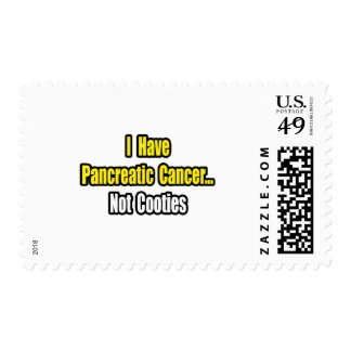 Pancreatic Cancer...Not Cooties Postage
